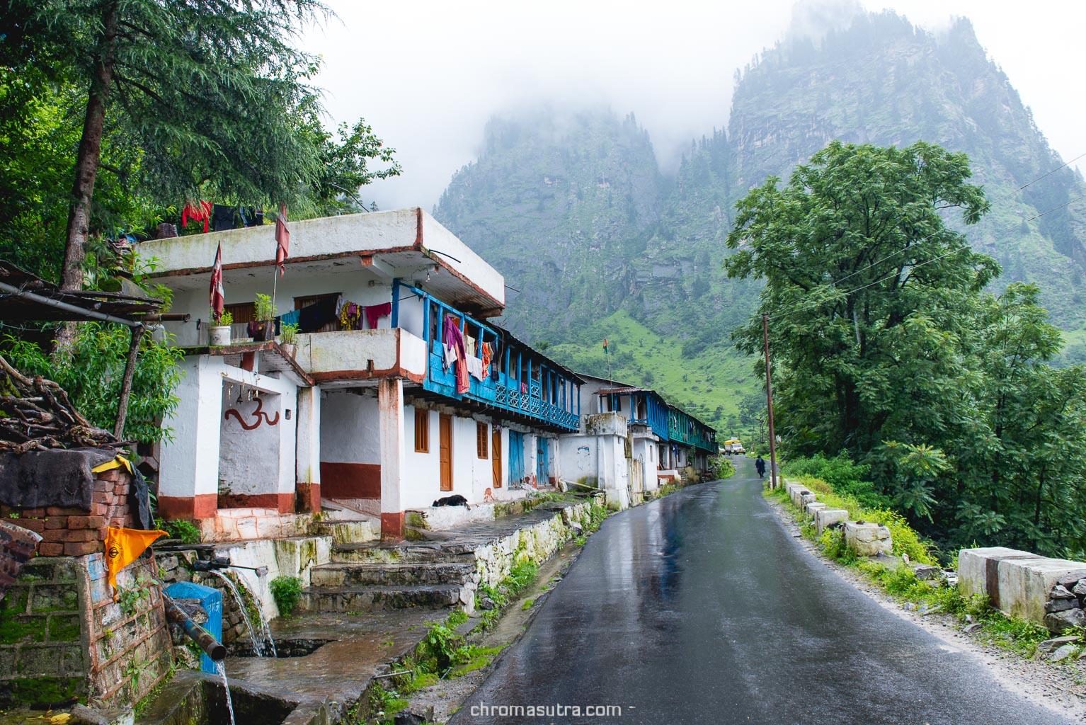 Pandukeshwar village on the way to Badrinath.